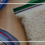 نگهداری برنج در فریزر